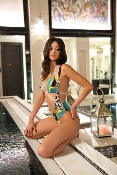 Megan, beautiful Russian escort who offers 69 in Rome
